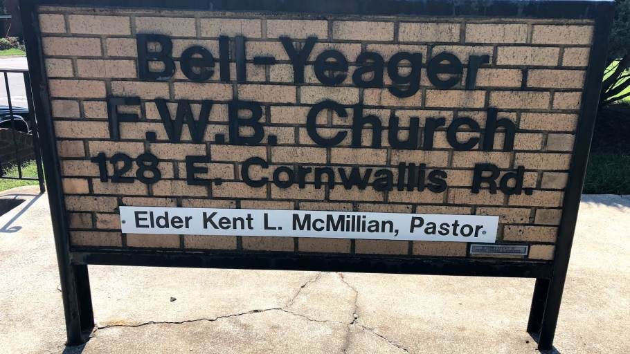 Bell Yeager Freewill Baptist Church