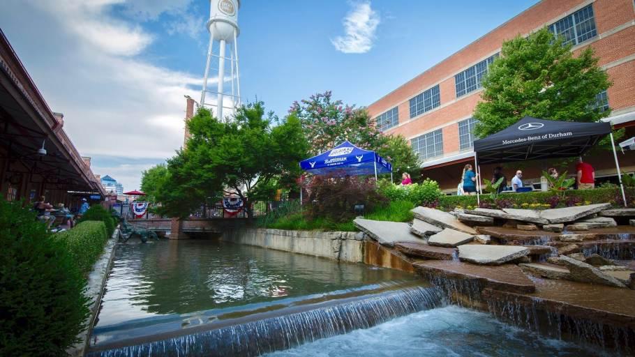 Rocky Mount Mills Beer Garden @ American Tobacco
