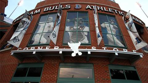 Durham Bulls Ballpark Corner Store