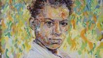 """Pauli Murray, a Youthful Spirit"" mural by Brett Cook"