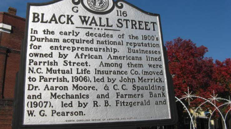 Black Wall Street / Historic Parrish Street