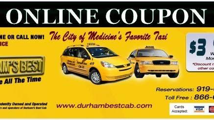 Durhams best cab co